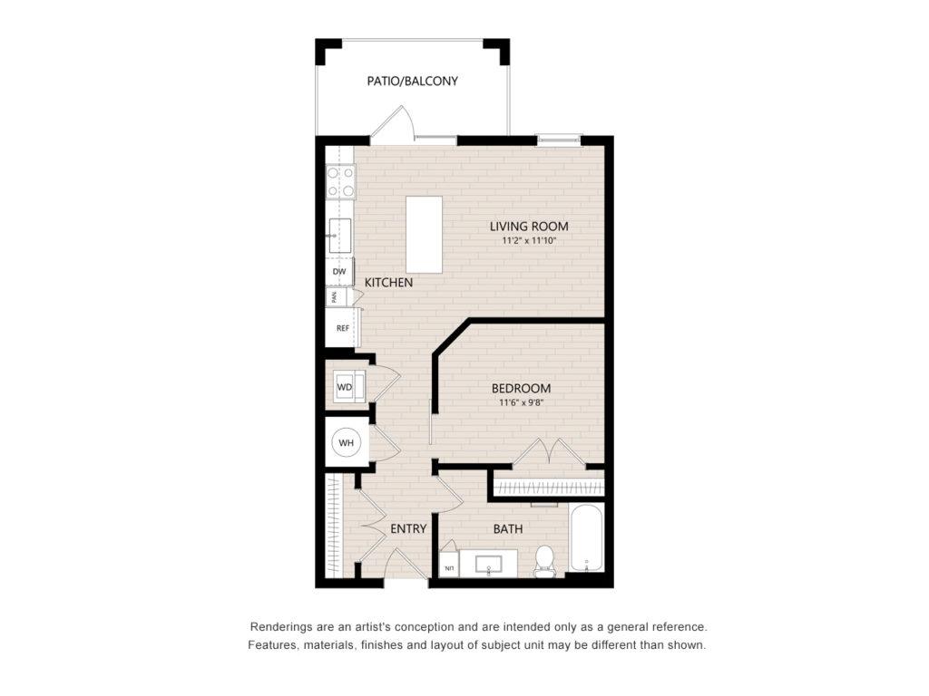Alta Blu Farrington floor plan